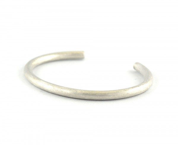 Armspange rund - Silberarmspange