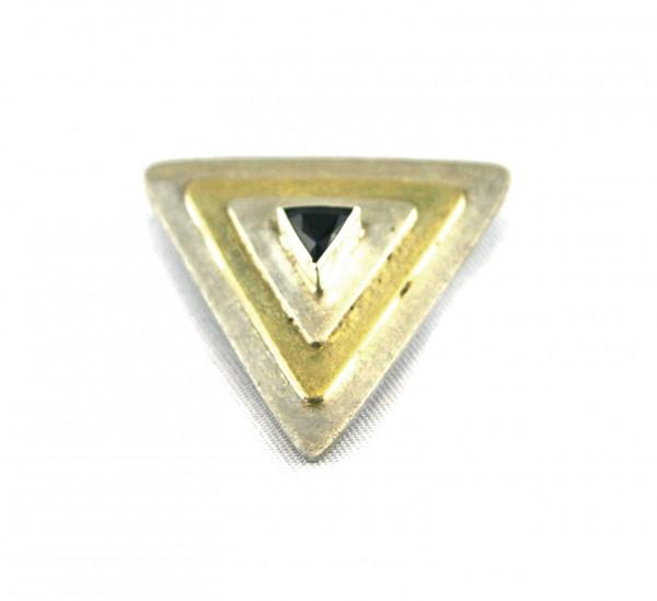 Saphiranhänger Dreieck - Anhänger mit dreieckigem Saphir